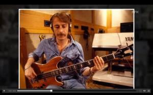 Rutger playing sswede bass